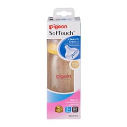 Pigeon Wide Neck SofTouch™ Bottle 240ml (PPSU)