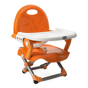 Chicco Mandarino Pocket Snack Booster Seat, fast set-up with an adjustable heights and tray.