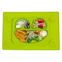 Easymat Original Suction Plate Green with Spoon